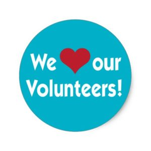 We love our volunteers 2016